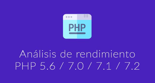 WordPress con PHP7 o PHP5.6: Rendimiento detallado