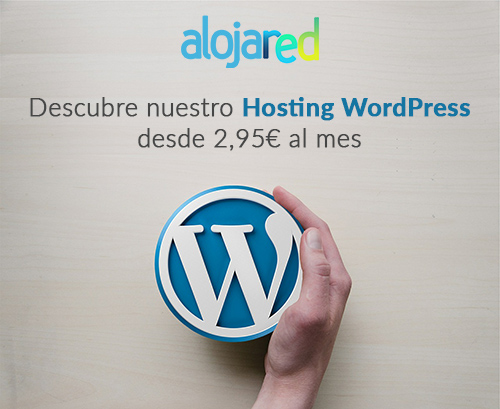 Hosting WordPress Alojared