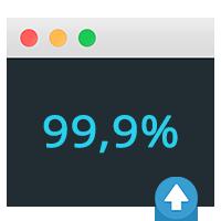 Garantía de servicio 99,9%